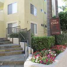 Rental info for The Oaks Apartments in the Los Angeles area