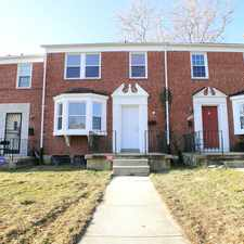 Rental info for SOLD IN BALTIMORE CITY! Renovated 3 Bedroom/1.5 Bath Row Home In Loch Raven!
