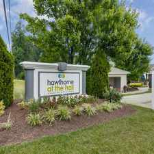 Rental info for Hawthorne at the Hall Apartment Homes