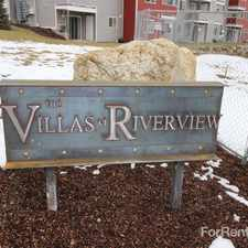 Rental info for The Villas at Riverview