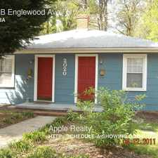 Rental info for 2020-B Englewood Ave in the Durham area