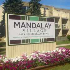 Rental info for Mandalay Village in the Winnipeg area