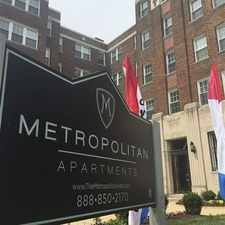 Rental info for The Metropolitan Apartments in the Eckington area