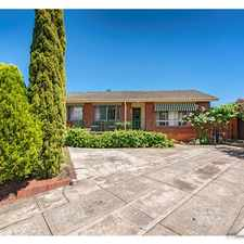 Rental info for Cook Family Home! in the Canberra area
