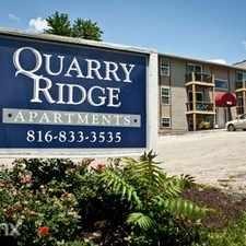 Rental info for Quarry Ridge Apartments