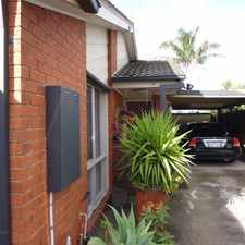 Rental info for Immaculate unit with garden maintenance included in the rent! in the Carrum Downs area
