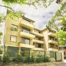 Rental info for LEASED RAY WHITE INNER WEST RENTALS !!! in the Sydney area