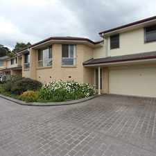 Rental info for Spacious Two Bedroom Townhouse in the Wyong area