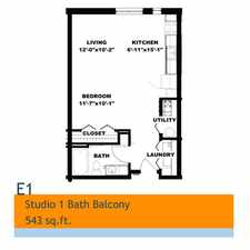 Rental info for Hot Metal Flats in the Southside Slopes area