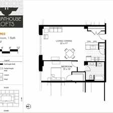 Rental info for Courthouse Lofts