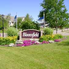 Rental info for Bloomfield Townhomes