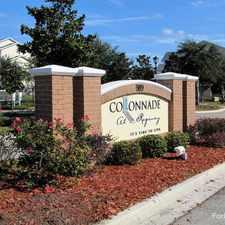 Rental info for Colonnade at Regency