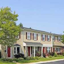 Rental info for Meadowfield Townhomes