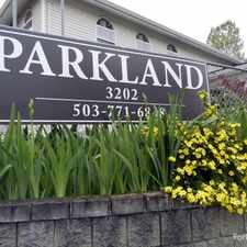 Rental info for Parkland Apartments in the Portland area
