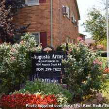 Rental info for Augusta Arms