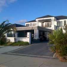 "Rental info for "" STUNNING SEA FRONT HOME "" in the Perth area"
