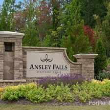 Rental info for Ansley Falls