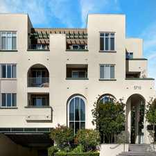 Rental info for Crescent Park At Playa Vista