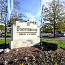 Rental info for Stonebridge Luxury Apartments