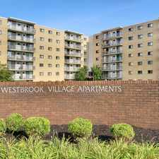 Rental info for Westbrook Village Apartments