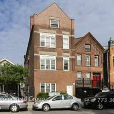 Rental info for Sharp 2 Bed, 1 Bath at Cleaver & Blackhawk (Wicker Park) in the Goose Island area