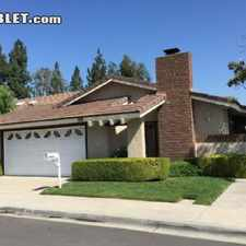 Rental info for $4500 3 bedroom House in Irvine in the Tustin area