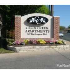 Rental info for Club Creek