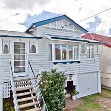 Rental info for Stylish Renovated Character Home in the Brisbane area