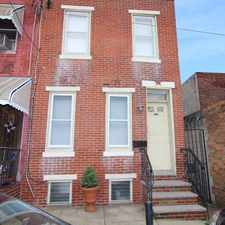 Rental info for 1937 S Sartain St in the Philadelphia area