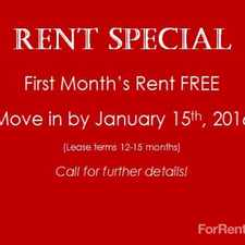 Rental info for Echelon Apartments