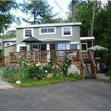 Rental info for Lake Front 2 Bdr Furnished Cottage Fitzwilliam NH