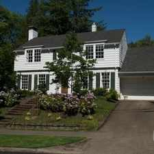 Rental info for $5000 4 bedroom House in Portland Southeast in the Collins View area