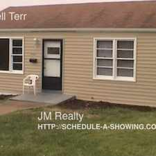 Rental info for 6566 Mitchell Terr in the Franz Park area