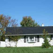 Rental info for Ranch style living with a large lot and 2 car garage ( deattached )