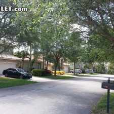 Rental info for Three Bedroom In Pompano Beach in the Coconut Creek area