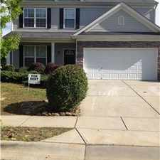Rental info for 4 bedroom home in Indian Trail, North Carolina. in the Indian Trail area