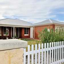 Rental info for UNDER APPLICATION in the Perth area