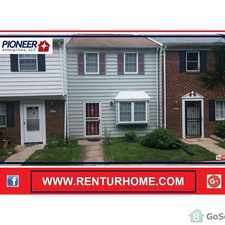 Rental info for GREAT TOWNHOUSE A NICE CHILD FRIENDLY NEIGHBORHOOD. CLOSE TO ALL MAJOR SHOPPING CTRS in the Ferndale area