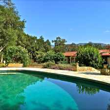 Rental info for Discreet Spanish Retreat in Ojai's