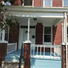 Rental info for Updated 4 Bedroom Rowhouse in the Baltimore area