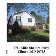 Rental info for Fabulous Large Home in Clinton, Md in the Clinton area