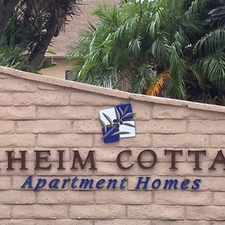 Rental info for Anaheim Cottages Apartments