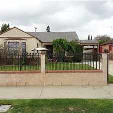 Rental info for House for Rent in the Los Angeles area