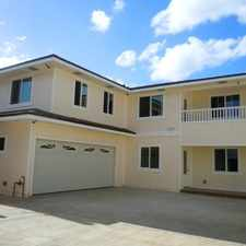 Rental info for Brand New Home