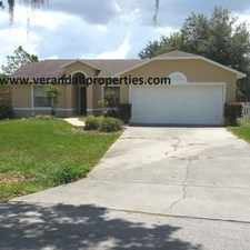 Rental info for 3/2-Spacious Home for Rent in Cardinal Pines Estates-Mascotte FL