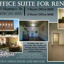 Rental info for One Room Office For Rent In Lange Business Center!
