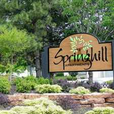 Rental info for Springhill Apartments