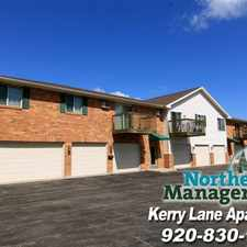 Rental info for Kerry Lane Apartments in the Menasha area