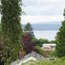 Rental info for West Seattle House for Rent in the Seattle area