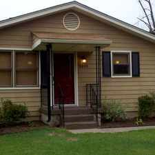 Rental info for Charming 2 bedrm/1 bath with Garage on Central Ave in Paducah - Available Sept. 3, 2015 -1000.00